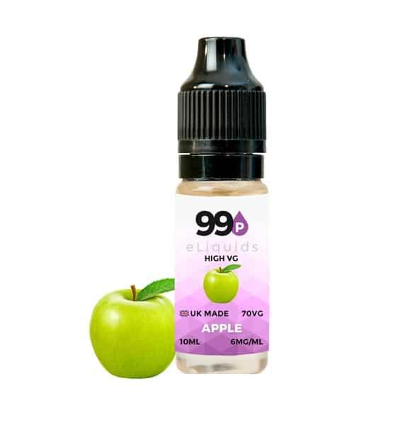 Apple E Liquid High VG - 10ml